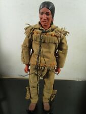 Vintage 1973 Marx / Gabriel The Lone Ranger TONTO ~on stand