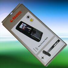 KRUSELL Leder Tasche/ Case Multidapt für Sony Ericsson Naite, Neuware !!!