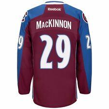 76e039b78 NHL Reebok Official Premier Home Player Jersey Collection Men s Colorado  Avalanche Nathan MacKinnon Burgundy M