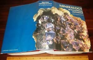 MINERALOGY OF GREAT BRITAIN & IRELAND by Greg & Lettsom 1977 Mining Minerals
