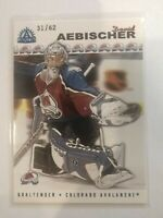 2001-02 Pacific Adrenaline David Aebischer #44 31/62