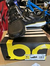 Adidas Energy Boost Running Shoes Black,White,yellow Men's Size 9.5 CQ1762
