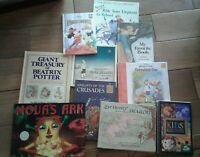 Lot of 10 Unsorted Books- Teacher/Daycare/Homeschool/Library