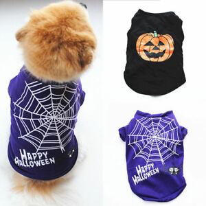 New Pet Costume Dog T-shirt Dog Sleeveless Shirt Breathable Pet Vest Cat Clothes