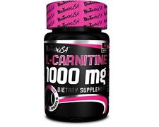 BioTech USA L-CARNITINE 1000mg 30 Tabs. Strong Fat Burner Weight Loss Slimming !