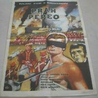 POLEN, Filmplakat,Plakat,PRAH PEPEO, A WAJDA,D OLBRYCHSKI#44