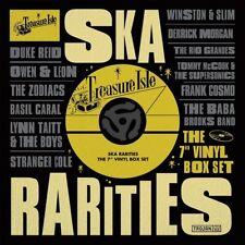 """TREASURE ISLE SKA RARITIES 7"""" VINYL BOX SET 10 VINYL LP NEU"""