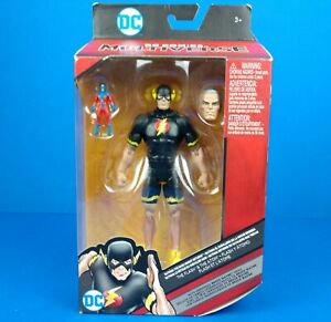 The Flash & The Atom Mattel DC Comics Multiverse Action Figure Bruce Wayne Head