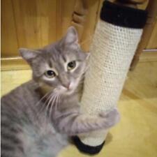 Pet Cat Kitten Scratching Pad Mat Board Natural Sisal Scratcher Post Pole Toy C