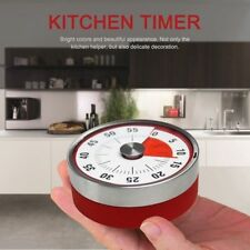 Timer Magnetic Kitchen Oven Mechanical Timers 60 Minutes Visual Time Counter 8CM