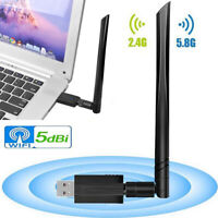 New USB Wifi Adapter 1200 Mbps USB 3.0 Wireless Adapter Receiver Transmitter!