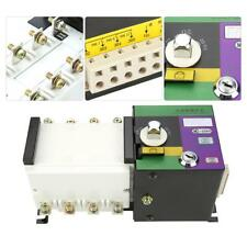 100A/4P Isolation Type Dual Power ATS Automatic Changeover Transfer Switch 400V