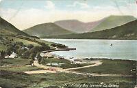 "Vintage ""Irish Life Postcard"" Killary Bay Leenane, Co. Galway, Ireland Unposted."
