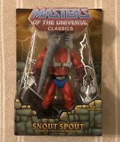 Snout Spout MOTUC Masters of the Universe Classics MOTU w/ mailer box