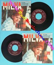 LP 45 7''MILVA Flamenco rock Da solo a sola 1961 italy CETRA SP 886 no cd mc dvd