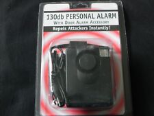 130 Db Personal Alarm with Door Alarm Accessory - Repels Attackers Instantly