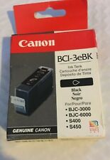 Canon 3e BLACK BCI-3eBK Genuine. Sealed.