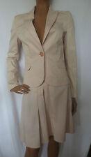 Knielange einreihige Damen-Anzüge & -Kombinationen aus Baumwolle