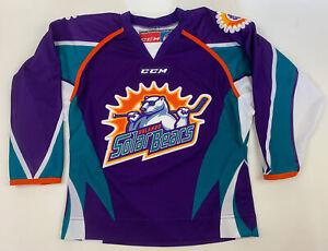 Orlando Solar Bears Youth Hockey Jersey Small CCM ECHL Stitched NWOT