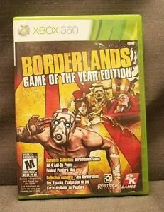 Borderlands -- Game of the Year Edition (Microsoft Xbox 360, 2010) Video Game
