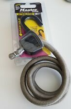 EASE OF USE Master Lock 3039DAT Comlock Steelcor Adjustable Bungee Cord, Gray