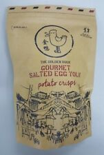The Golden Duck - SINGAPORE Gourmet Salted Egg Potato Crisp 125g Best Selling