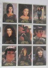ST TNG - Legends of Star Trek - Troi - 9 Cards Set - limitiert 1701 Sets
