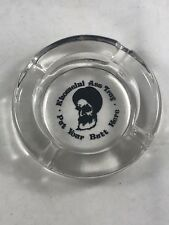 VINTAGE MUSLIM  KHOMEINI ASS TRAY PAT YOUR BUTT HERE ASHTRAY