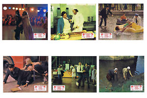 HOLIDAY ON THE BUSES  - SET OF 6 - A4 REPRO LOBBY POSTERS