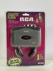 Sealed - RCA AM/FM Personal Stereo Cassette Player Headphones RP-1810