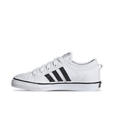 Boys' Big Kids' adidas Originals Nizza Casual Shoes Cloud White/Core Black/Cloud