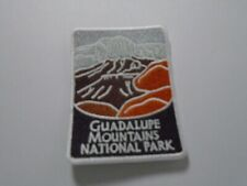 Guadalupe Mts  Park patch