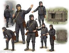 """Set de figurines """"EQUIPAGE SOVIETIQUE"""", pour SCUD B - KIT TRUMPETER 1/35 n° 0434"""