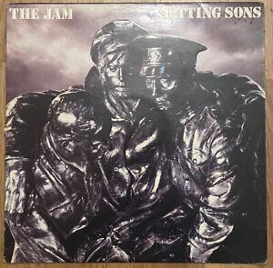 THE JAM - SETTING SONS - VINYL LP - 1978 - EMBOSSED SLEEVE - POLD 5028