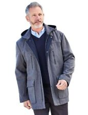 Cappotti e giacche da uomo grigie in lana taglia M