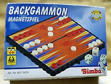 20042. Backgammon  Magnetspiel  Simba