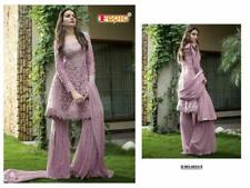 BUY 1 GET 1 FREE SHARARA PLAZZO SALWAR KAMEEZ SUIT WOMEN PAKISTANI DESIGNER NEW