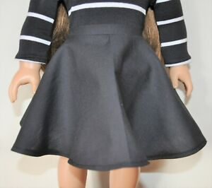 """18"""" Doll Clothes Black Skirt Only Fits American Girl Doll Our Generation Dolls"""