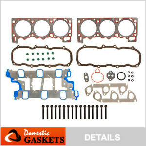 Fits 95-96 4.0L MAZDA B4000 FORD EXPLORER AEROSTAR RANGER Head Gasket SET Bolts