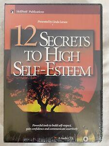 12 Secrets To High Self-Esteem by Linda Larsen 6 Disc CD Audio Book Self-Help