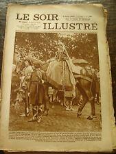 Le Soir Illustré - Cortège Historique Interprovincial de Bruxelles - 9/8/1930