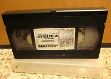CIVILIZATION Thomas Ince pacifist film VHS 1916 Jesus Christ submarine classic