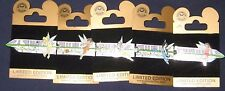 VERY RARE ALL 5 FAIRIES ON THE GREEN LINE MONORAIL GOLD CARD LE 100 VERY RARE!