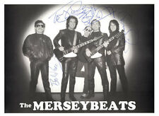 THE MERSEYBEATS Signed Original Autographed 10x8 Photo COA