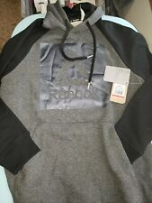 💥Reebok💥Men's Beast Pullover Hoodie - Graphic Hooded.charcoal heather size S