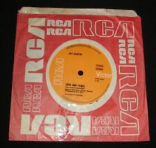 Love Rock 45 RPM Speed Vinyl Records