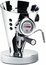 BUGATTI DIVA ESPRESSO CHROME HOT DRINK COFFEE DRINKS MACHINE MAKER NEW WARRANTY