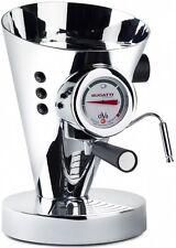 BUGATTI DIVA ESPRESSO CHROME HOT DRINK COFFEE DRINKS MACHINE MAKER NEW WARRANTY