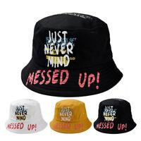 Unisex Bucket Hat Fishing Outdoor Hip Hop Cap Men's Summer For Fisherman  9H