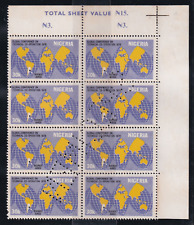 Nigeria Specimen 1978 Global Conference on Technical Co-operation Mnh Stamps